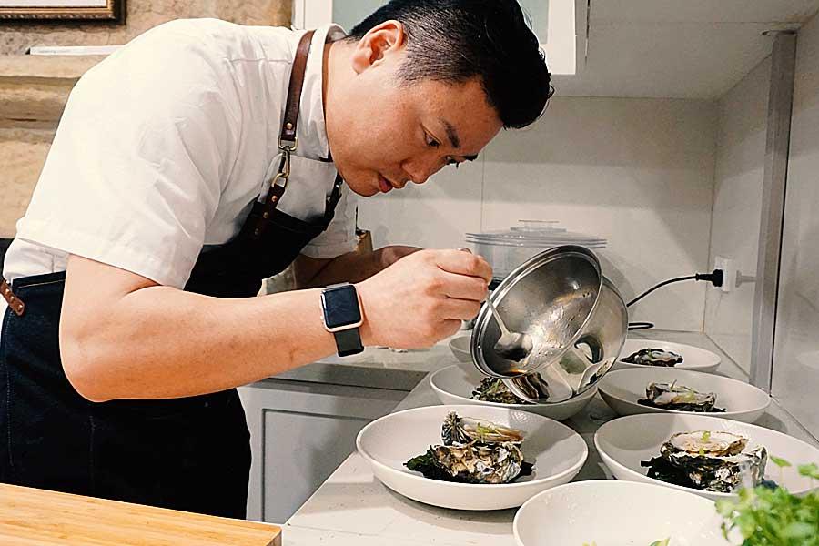 private chef working