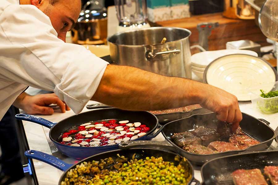 Taste of Europe - cooking