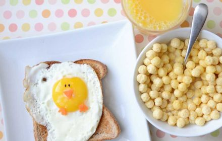 Easter food ideas - breakfast for kids