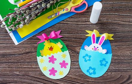 Easter crafts and games for kids ideas