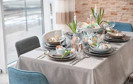 Easter table styling ideas