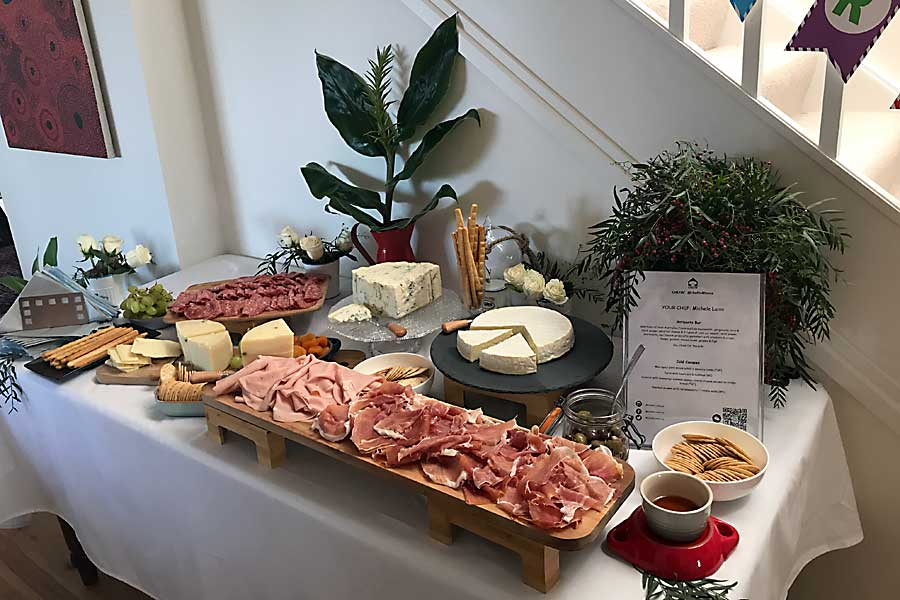 Corporate event - grazing table style