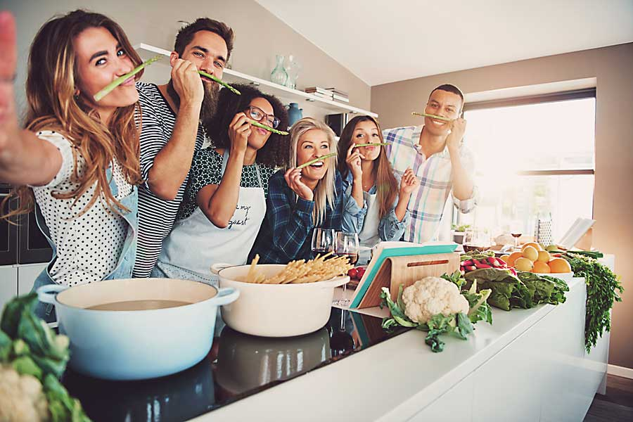 team building ideas - cooking classes