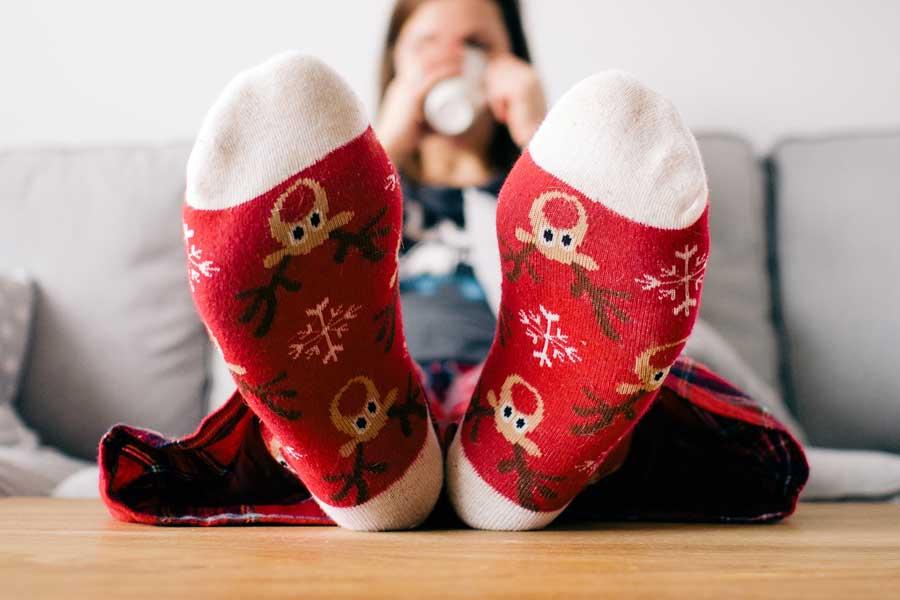 Christmas present - socks