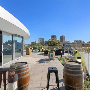 Surry Rooftop - Surry Hills - rooftop space on sunny day