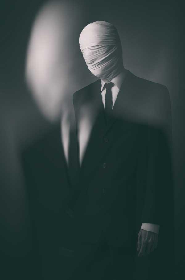 halloween slender man costume