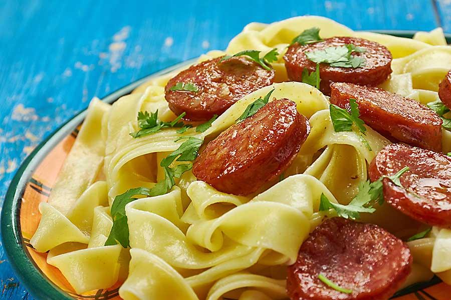 andouille pasta