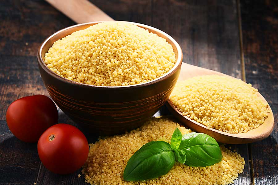 couscous raw grain