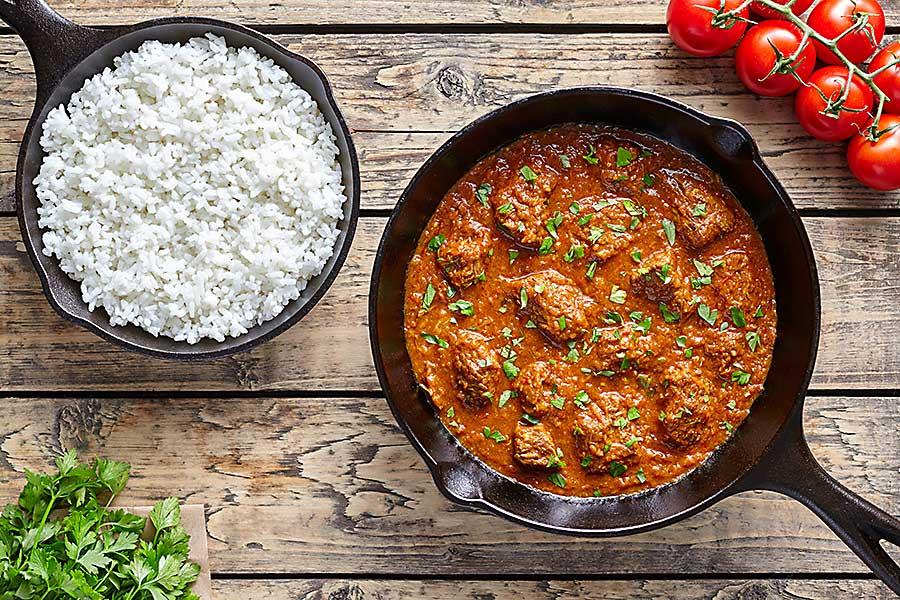 Garam masala curry