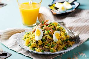 Kedgeree dish