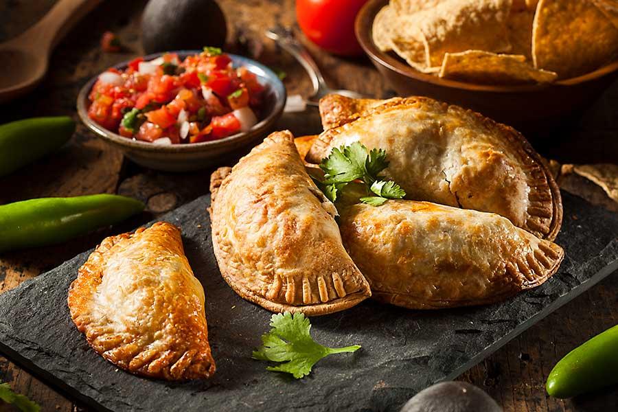 South American empanadas