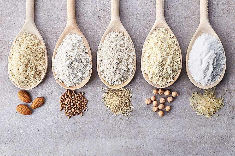 types flour