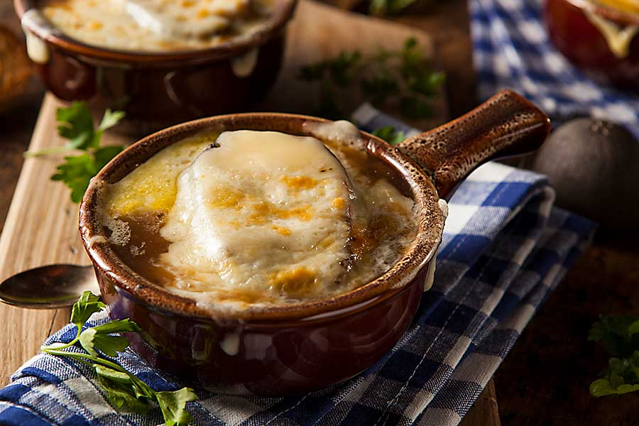French cuisine - onion soup