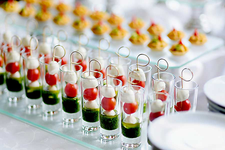 Canapes corporate catering brisbane