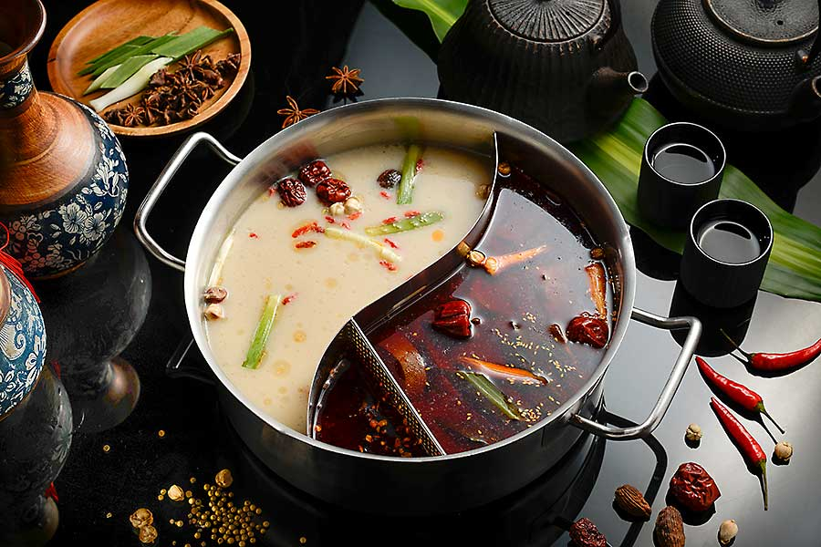 Traditional Chinese dish - Hot Pot