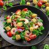 Colourful food - healthy salad