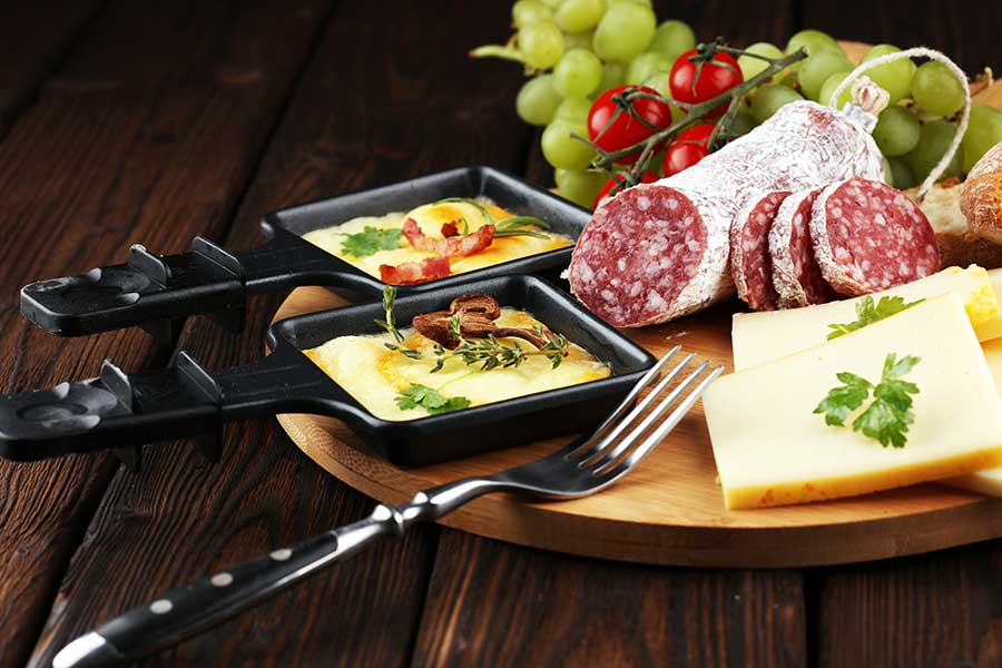 Corporate catering Brisbane - raclette party