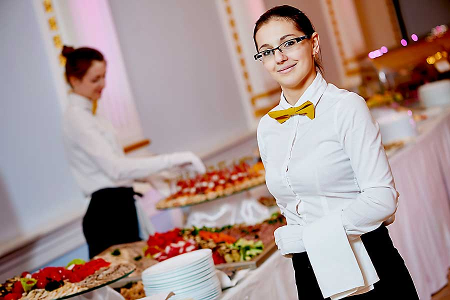 Corporate event fine dining
