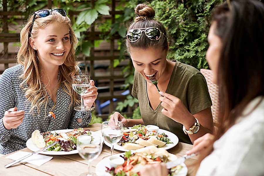 Fine dining social dinner