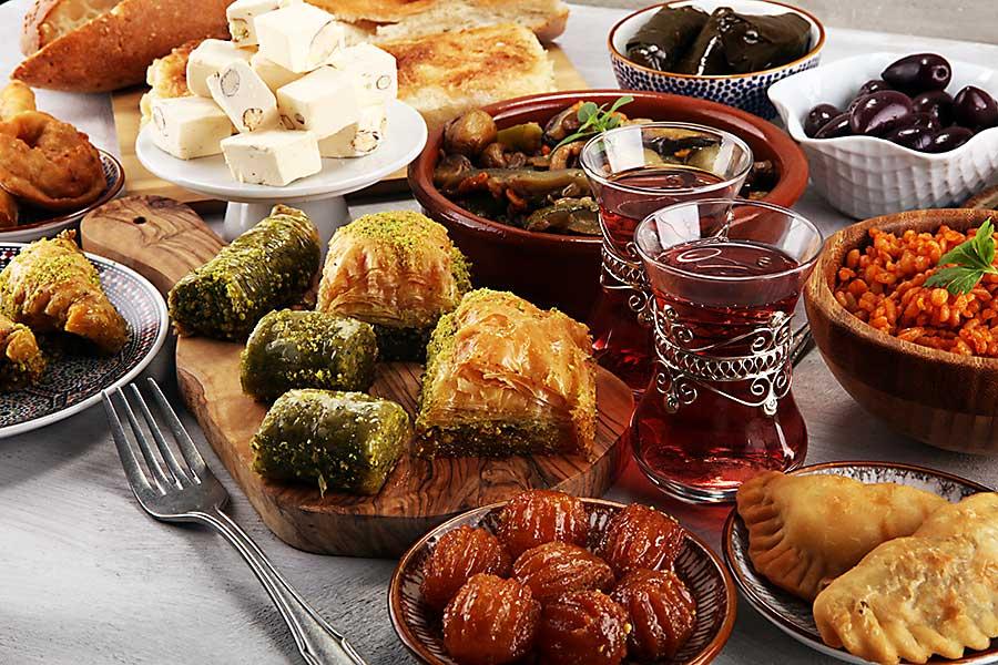 Israeli deli sweets