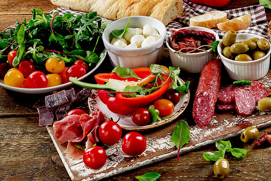 Food of Italy - antipasti