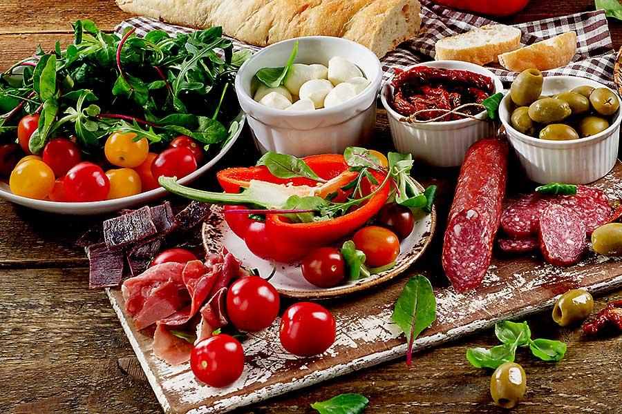 Food of Italy - antipasti