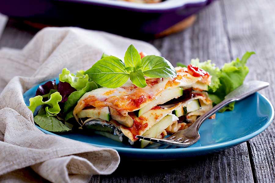 Italian food - lasagne