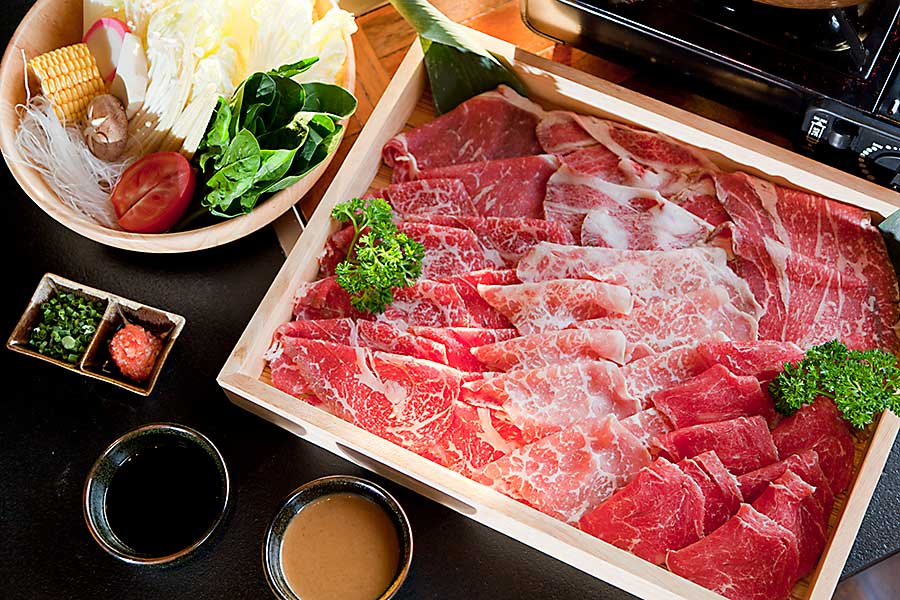 Japanese food - wagyu beef