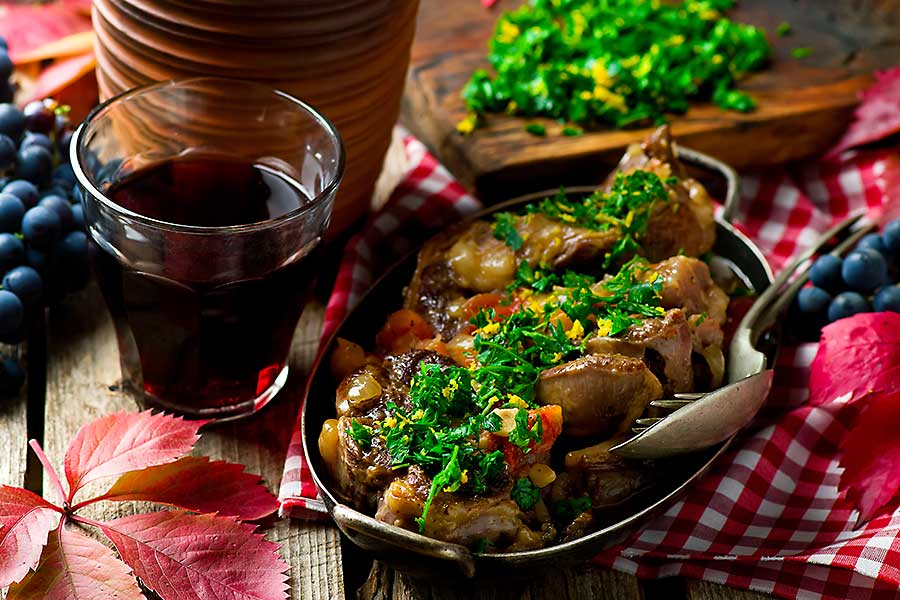 Ossobuco Milanese - delicious Italian dish