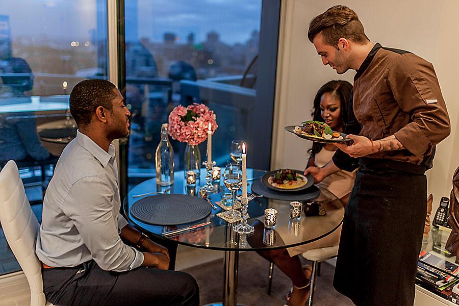 Romantic dinner Sydney