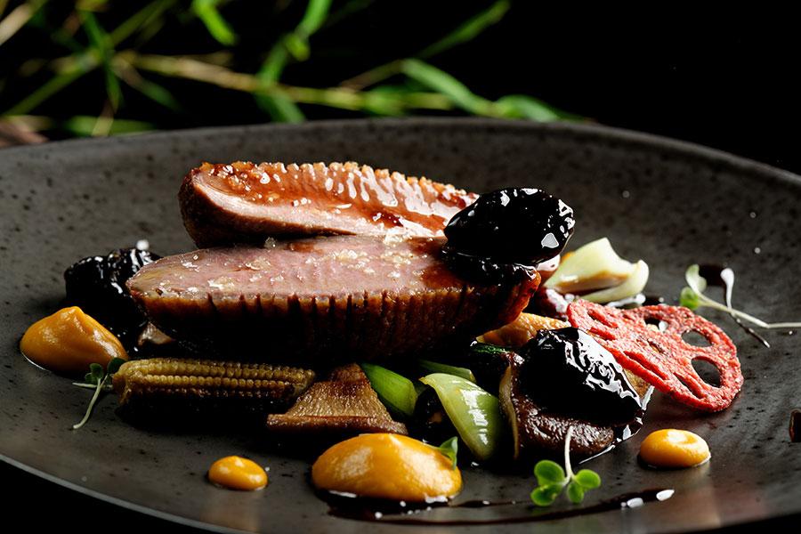 Sophisticated Melbourne's food scene