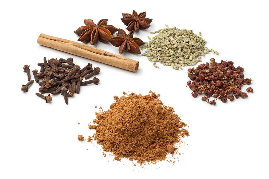 5 spice - well known asian spice mix