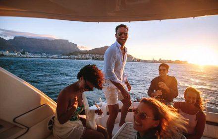 Birthday on the boat
