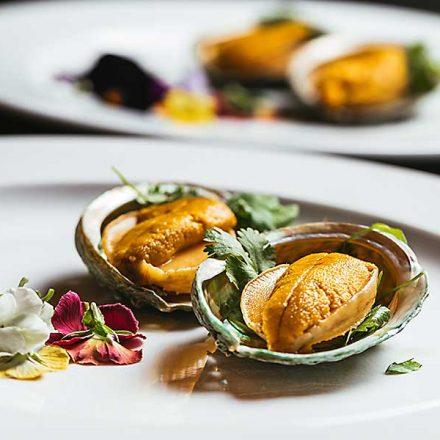 Board meeting haute cuisine