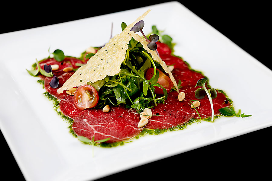 Taste of Tuscany - beef carpaccio