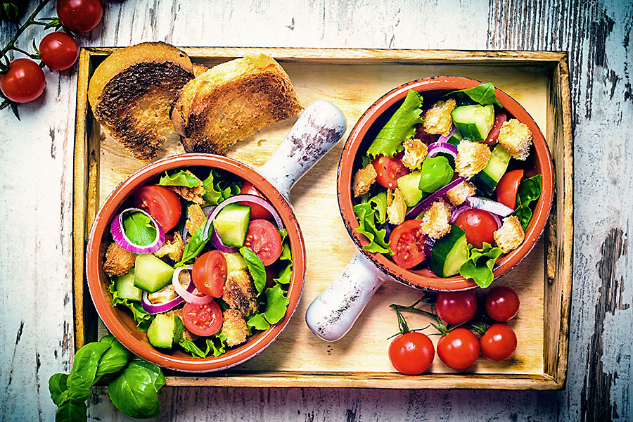 Tuscan food - panzzarella