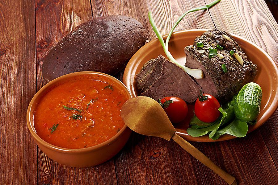 Tuscan food - pappa di pomodoro