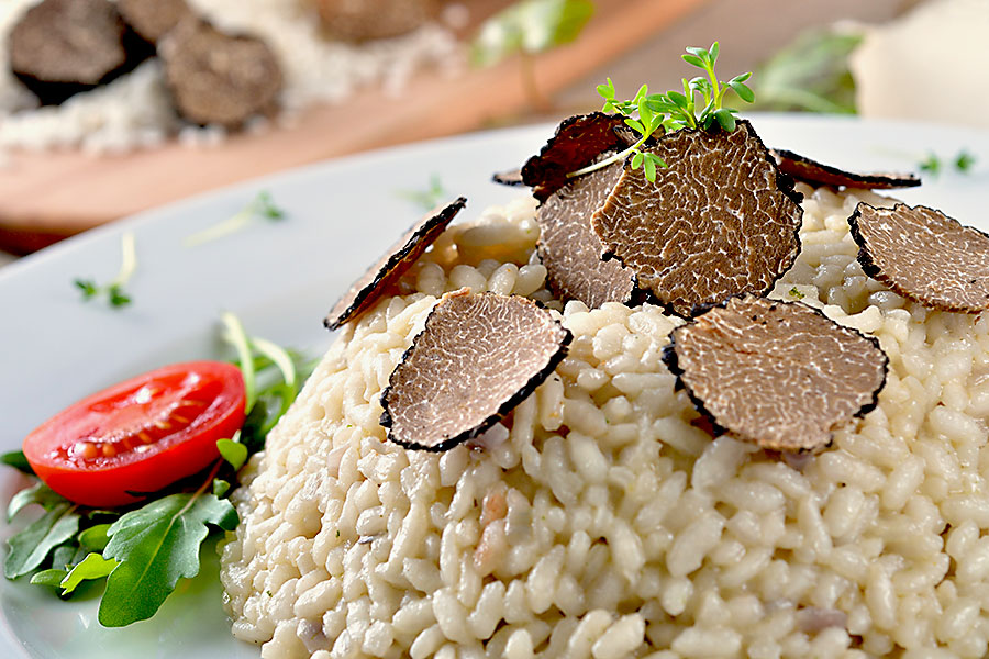 Taste of Tuscany - Risotto with black truffles