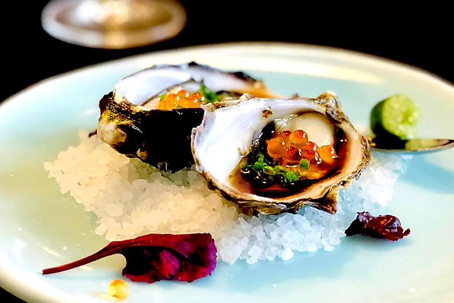 Chef Winston Zhang dish