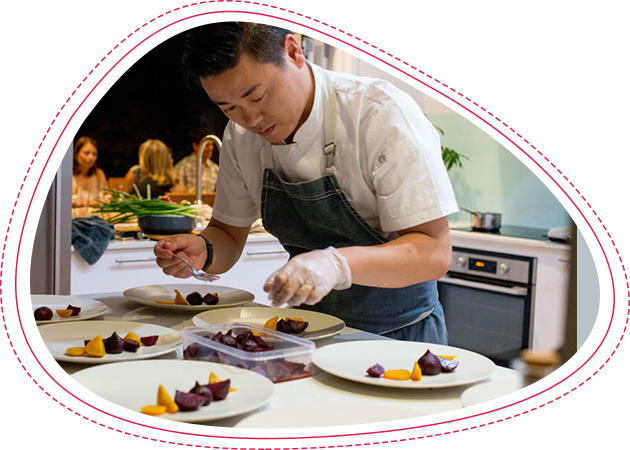 Private Chef Winston Zhang