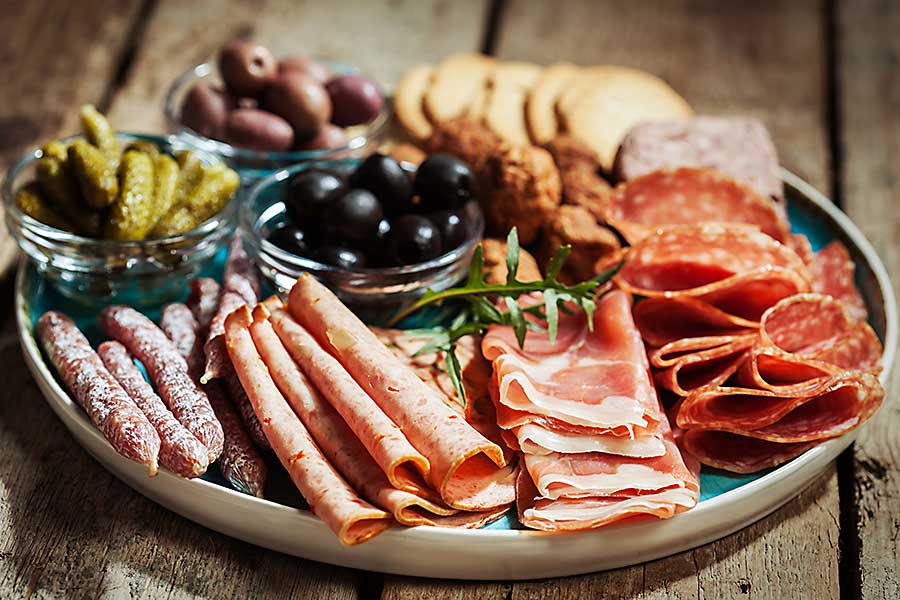 Assiette - cold cuts plate