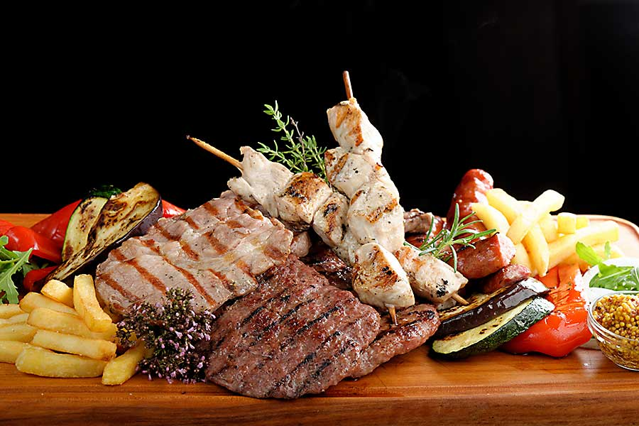 Assiette mixed grill