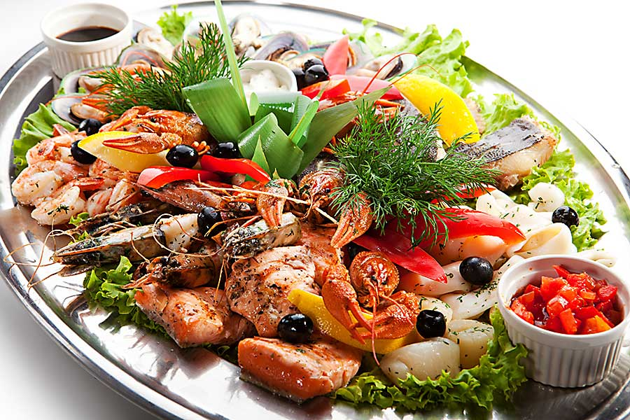 Assiette seafood