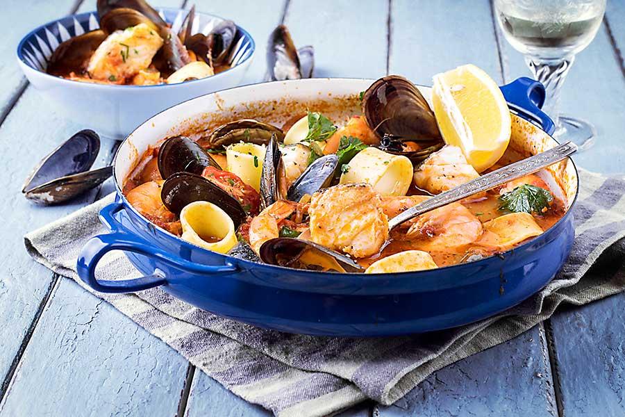 Bouillabaisse fish soup