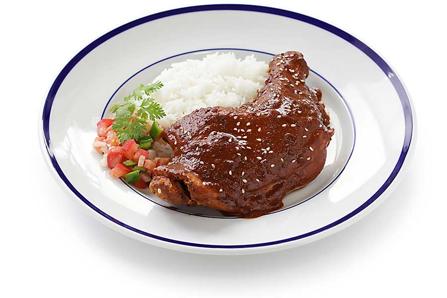 Chicken mole - Mexican cuisine