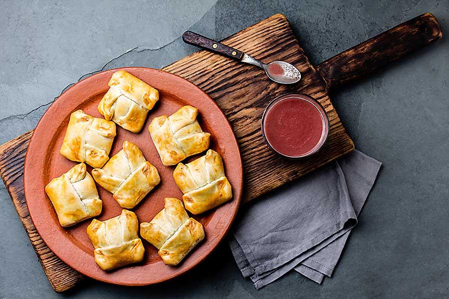 Empanadas from Peru