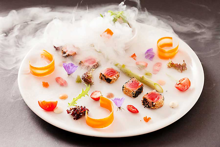 Experimental cuisine