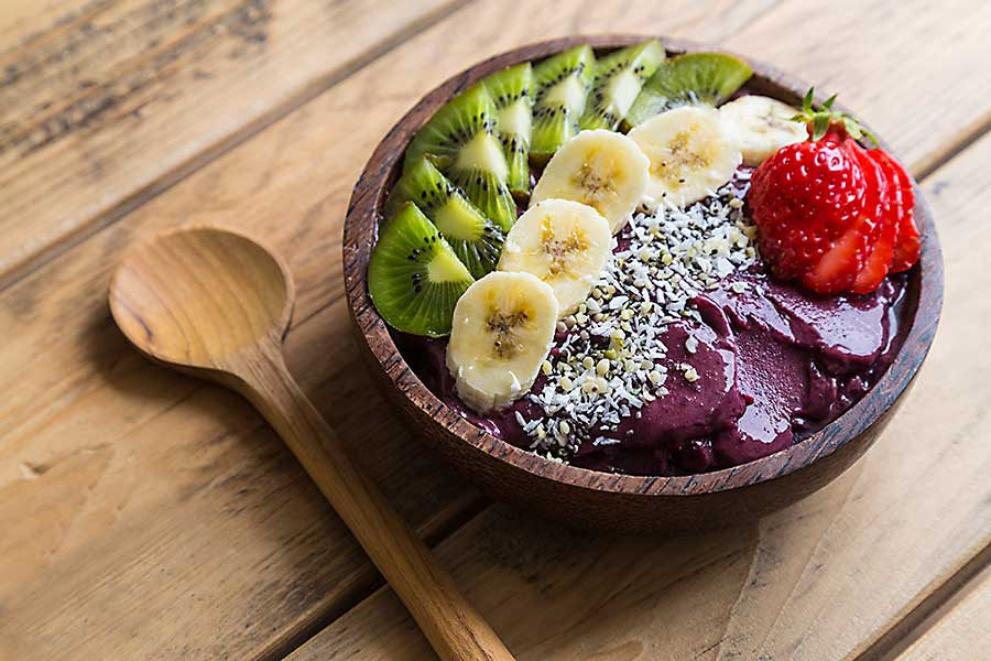Hawaiian dessert - acai bowl