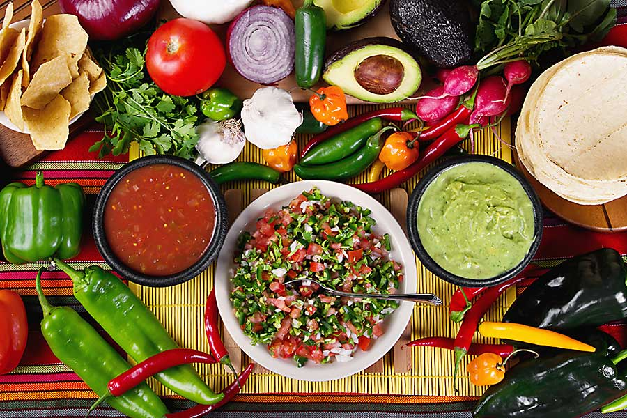 Mexican food - salsa