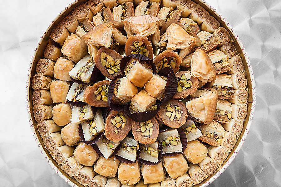 Sweet pastry Baklava